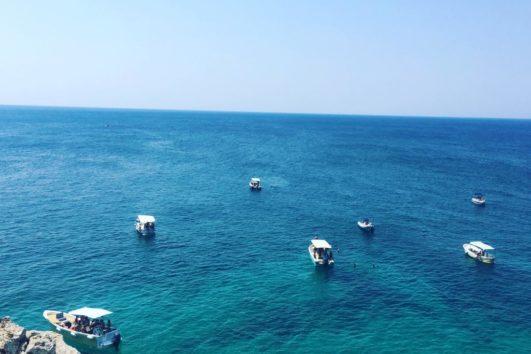 Barche in escursione